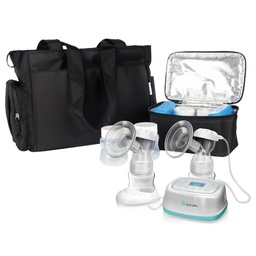 BelleMa Effective Pro Double Electric Breast Pump with Tote Bag and Cooler Pack (Value Pack)