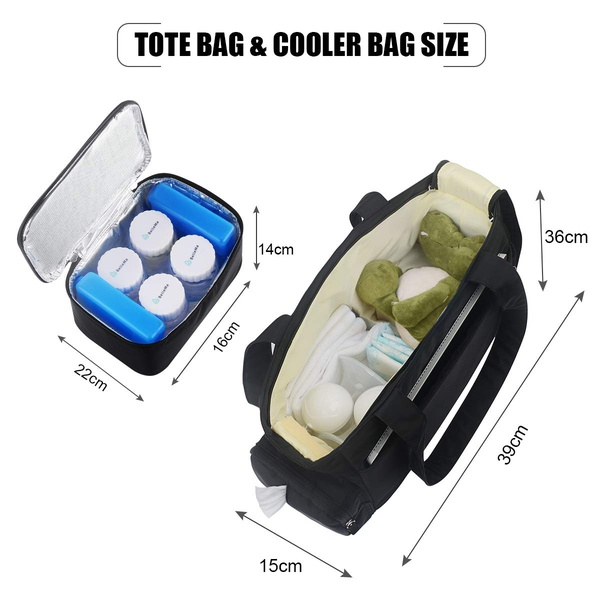 BelleMa Multifunction Baby Nappy Changing Bag